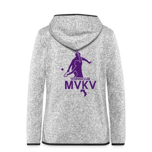 tc mvkv logo - Vrouwen hoodie fleecejack