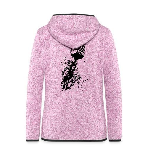 dirtymic - Vrouwen hoodie fleecejack