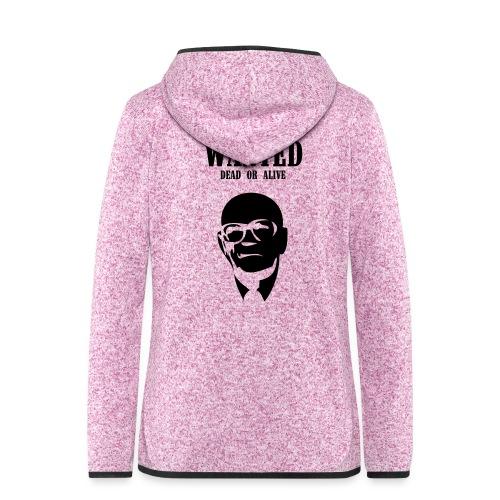 Kekkonen Wanted - Dead or Alive - Naisten hupullinen fleecetakki