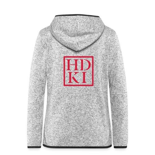 HDKI logo - Women's Hooded Fleece Jacket