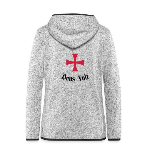 Deus Vult - Vrouwen hoodie fleecejack