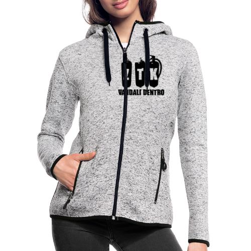 ZTK Vandali Dentro Morphing 1 - Women's Hooded Fleece Jacket
