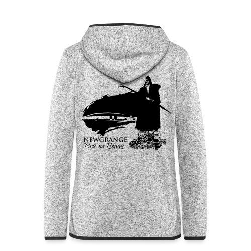 Legend_-_Newgrange3 - Women's Hooded Fleece Jacket