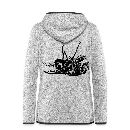 mouche morte - Veste à capuche polaire pour femmes
