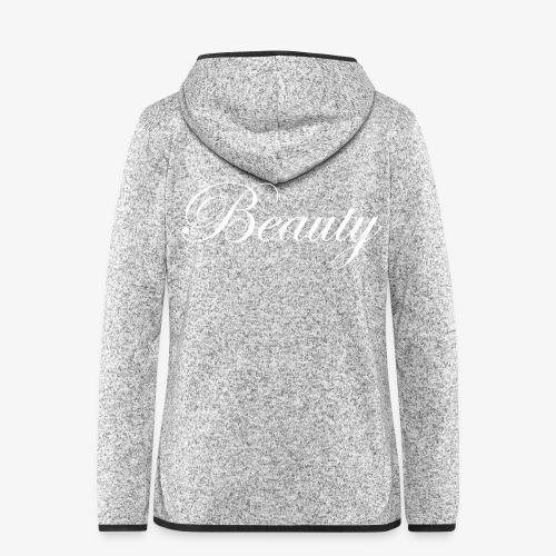 Beauty - Frauen Kapuzen-Fleecejacke
