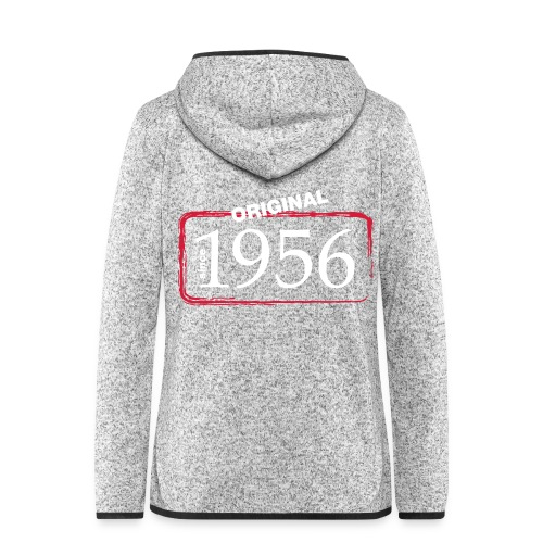 1956 - Frauen Kapuzen-Fleecejacke