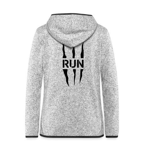 Run Scratch - Veste à capuche polaire pour femmes