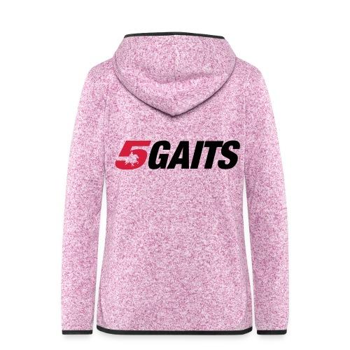 5gaits color - Women's Hooded Fleece Jacket