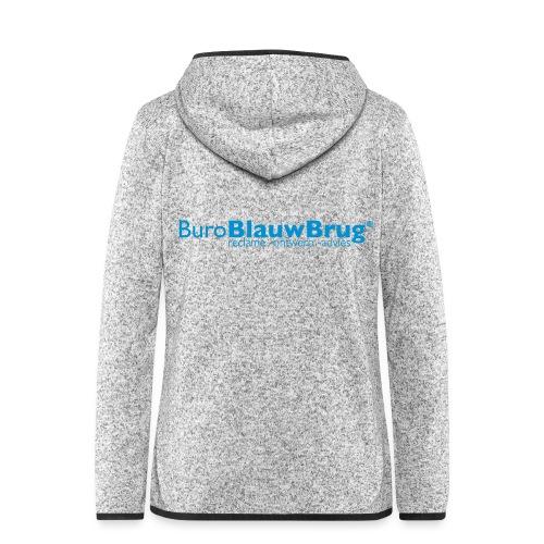 bbb_logo2015 - Women's Hooded Fleece Jacket