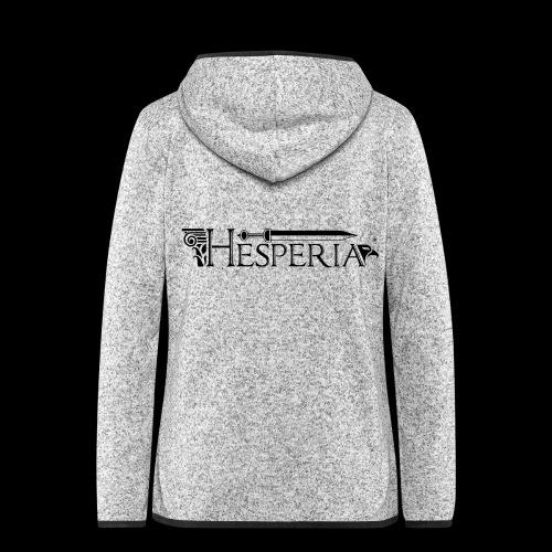 HESPERIA logo 2016 - Women's Hooded Fleece Jacket