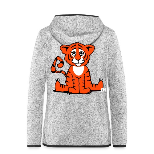 Tiger cub - Women's Hooded Fleece Jacket