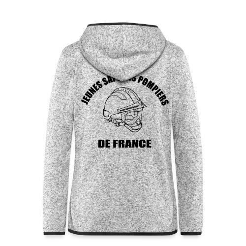 Jeunes Sapeurs Pompiers de France - Veste à capuche polaire pour femmes