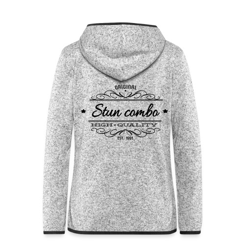 Stun Combo! - Women's Hooded Fleece Jacket