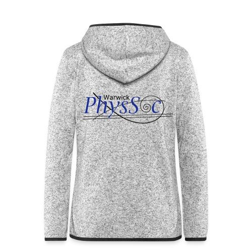Official Warwick PhysSoc T Shirt - Women's Hooded Fleece Jacket