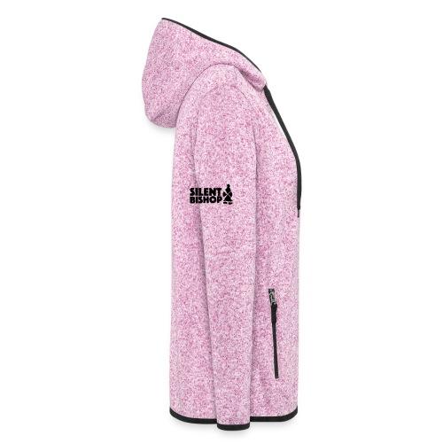 Silent Bishop Logo Groot - Vrouwen hoodie fleecejack