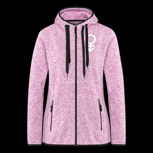 Genderqueer symbol - Women's Hooded Fleece Jacket