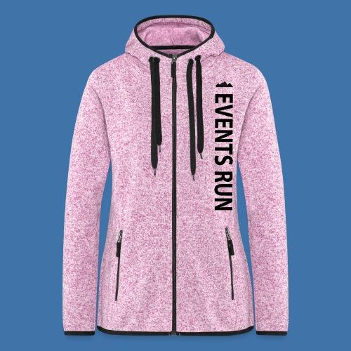 EVENSRUN - Veste à capuche polaire pour femmes