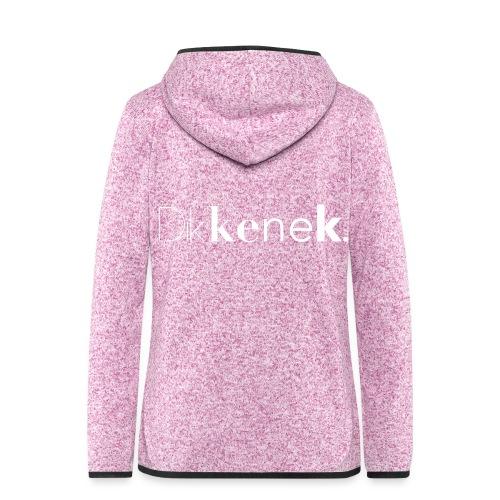 dikkenek - Veste à capuche polaire pour femmes