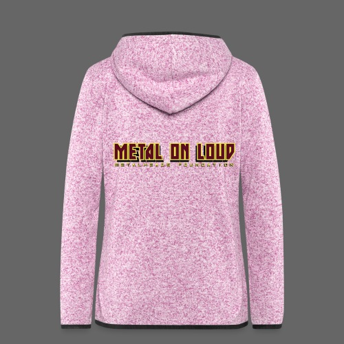MOL Letter Logo Randy - Women's Hooded Fleece Jacket