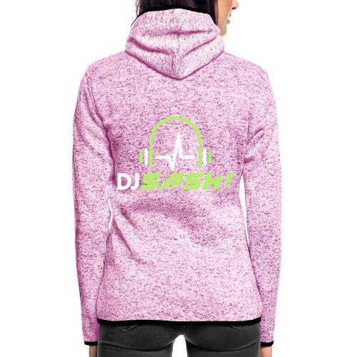 DJ SASH! - Headfone Beep - Women's Hooded Fleece Jacket