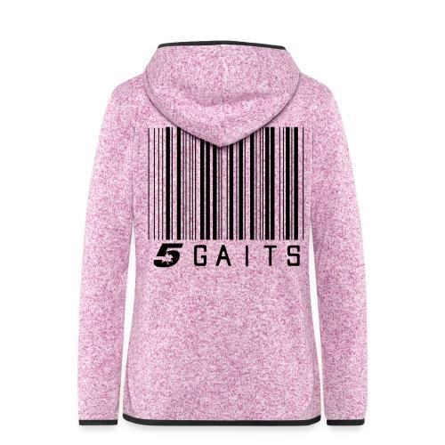 5gaitsBarcode - Women's Hooded Fleece Jacket