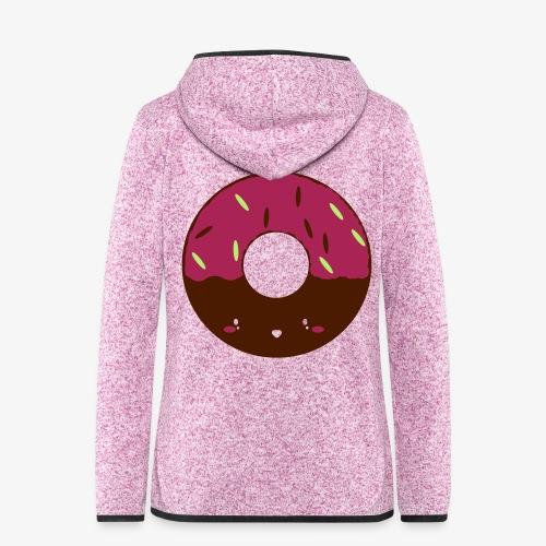 Icing Doughnut - Women's Hooded Fleece Jacket