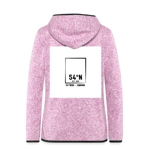 54°Nord square t-shirt edt.3 - Dame hætte-fleecejakke