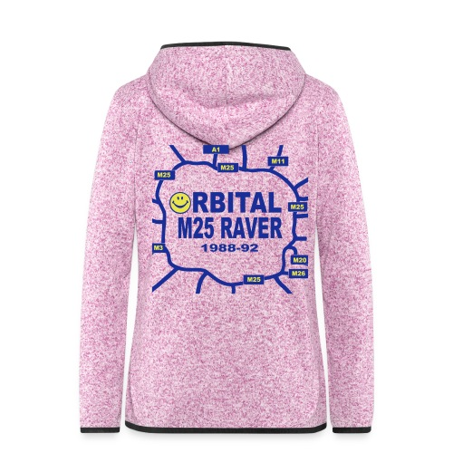 Orbital M25 Acid Hosue Raver - Women's Hooded Fleece Jacket