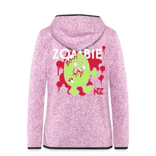 mr zombie - Veste à capuche polaire pour femmes