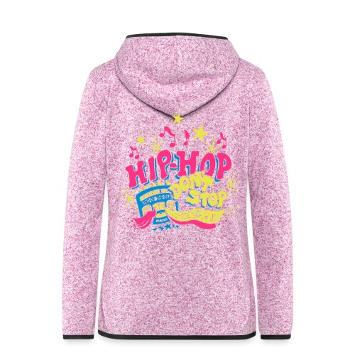 hiphop_style - Frauen Kapuzen-Fleecejacke
