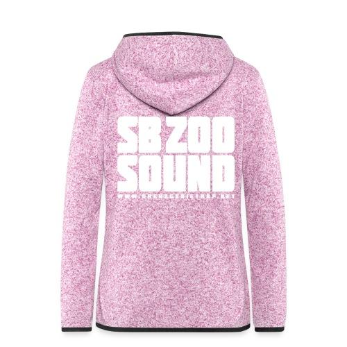 SB ZOO Blockbuster - Frauen Kapuzen-Fleecejacke