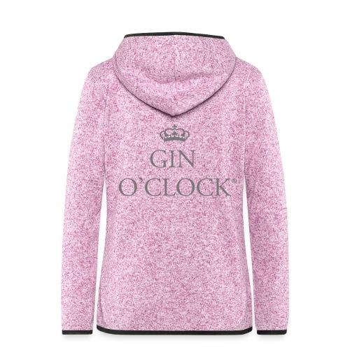 Gin O'Clock - Women's Hooded Fleece Jacket