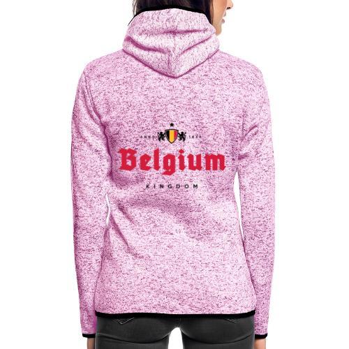 Bierre Belgique - Belgium - Belgie - Veste à capuche polaire pour femmes