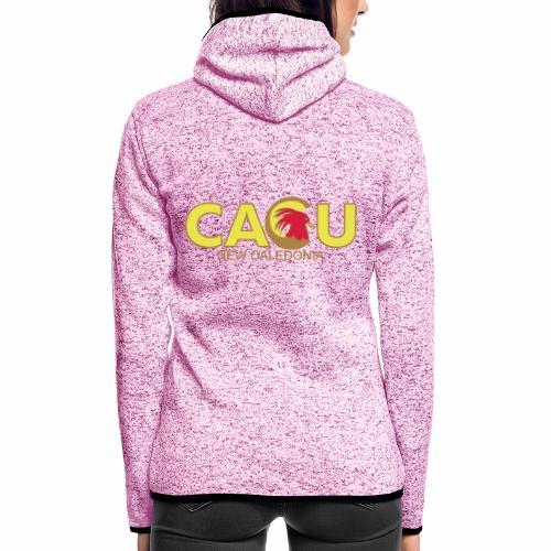Cagu New Caldeonia - Veste à capuche polaire pour femmes