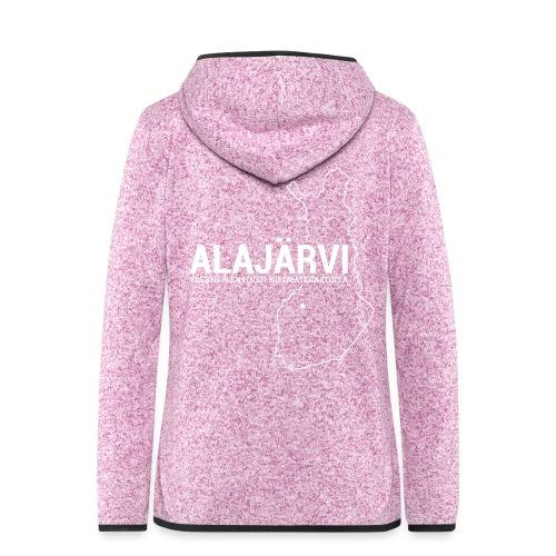 Kotiseutupaita - Alajärvi - Naisten hupullinen fleecetakki