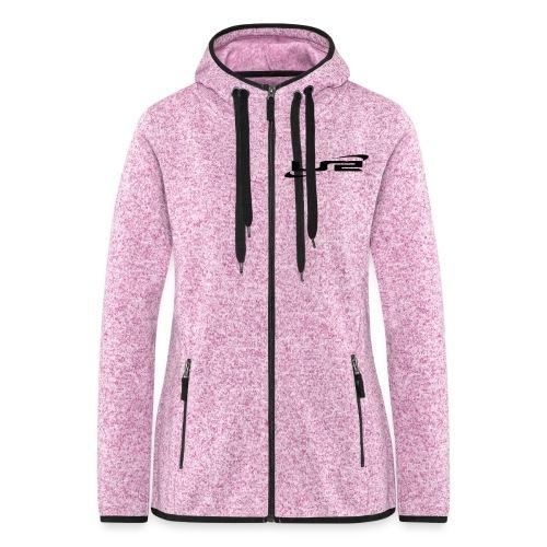 logcdspreadshirt - Veste à capuche polaire pour femmes