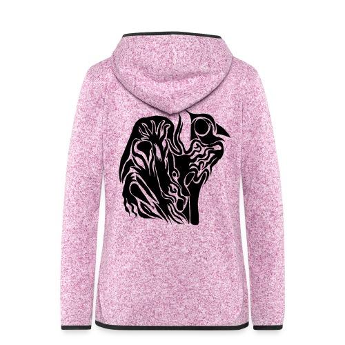 Coque Abstrait - Veste à capuche polaire pour femmes