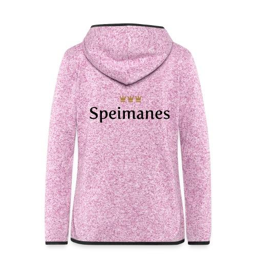 Speimanes (Köln/Kölsch/Karneval) - Frauen Kapuzen-Fleecejacke