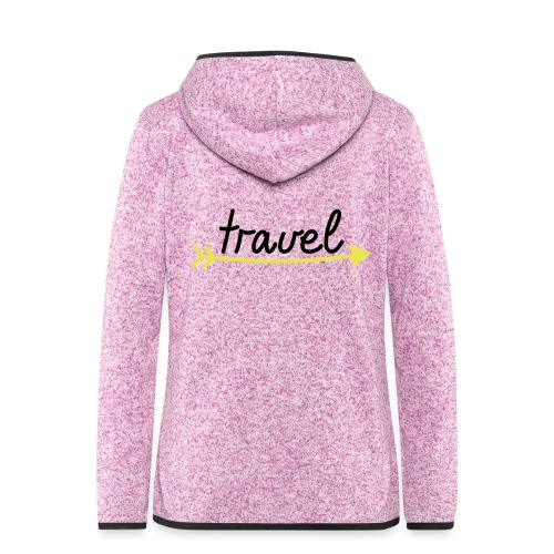 Travel - Frauen Kapuzen-Fleecejacke