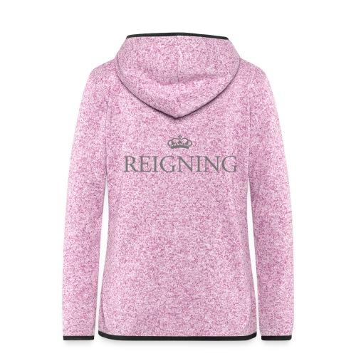 Gin O'Clock Reigning - Women's Hooded Fleece Jacket