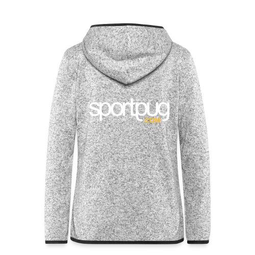 SportPug.com - Naisten hupullinen fleecetakki