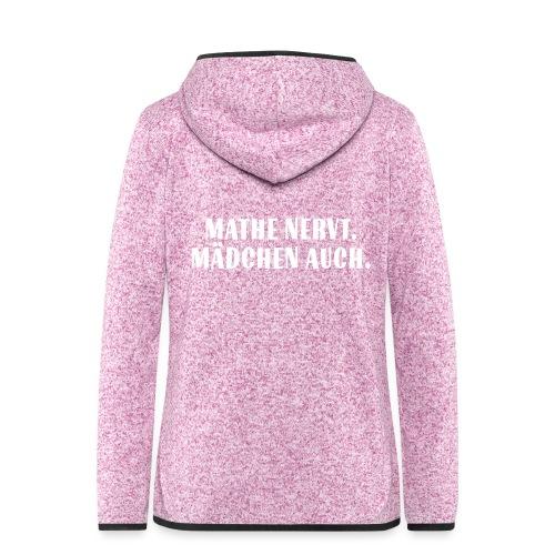 Mathe_Vektor - Frauen Kapuzen-Fleecejacke