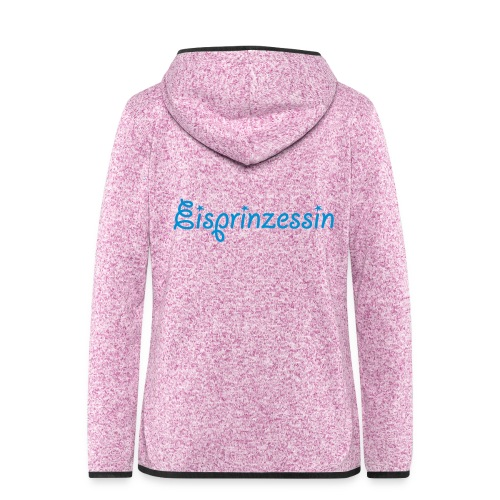 Eisprinzessin, Ski Shirt, T-Shirt für Apres Ski - Frauen Kapuzen-Fleecejacke
