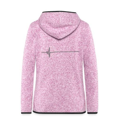 Flatline - Women's Hooded Fleece Jacket