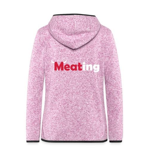 Meating Bull - Frauen Kapuzen-Fleecejacke
