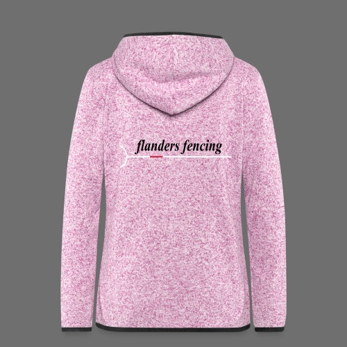 Flanders Fencing - Vrouwen hoodie fleecejack
