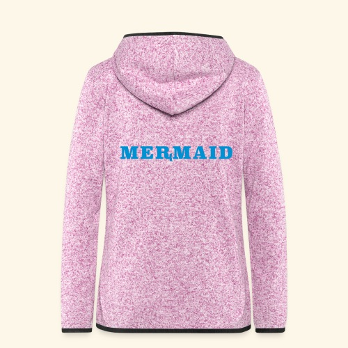 Mermaid logo - Fleeceluvjacka dam