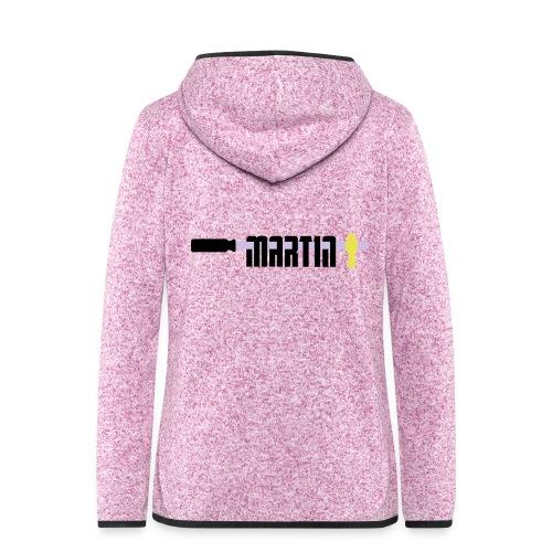 martin - Vrouwen hoodie fleecejack