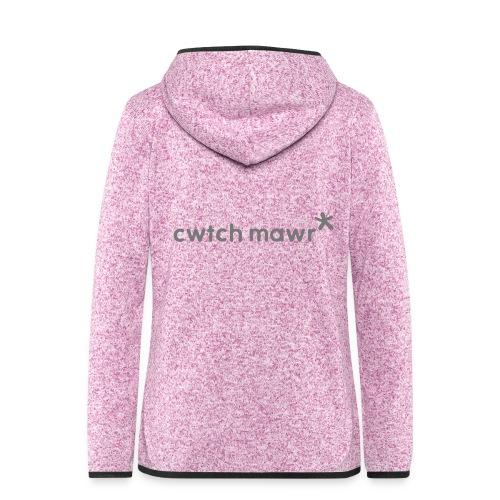 cwtch mawr - Women's Hooded Fleece Jacket