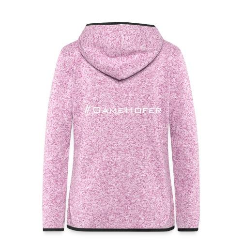 GameHofer T-Shirt - Women's Hooded Fleece Jacket